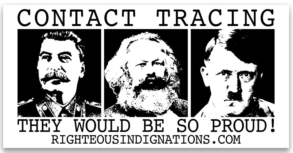 Contact Tracing - Stalin, Marx, Hitler they would be so proud!